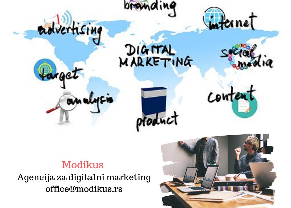 digitalni marketing agencija modikus
